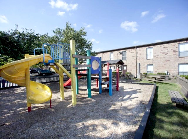 Springbranch apartments safe playground for kid